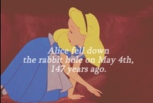 Alice In Wonderland Along With The Madness Of Alice / by Katrina Westall