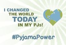 #PyjamaPower / Easy, low or no commitment online and offline actions that benefit a worthy cause, that can be completed in under 30 minutes, either from a person's home, work or on the go.  And, oh yeah, you can do them in your pyjamas!  http://helpfromhome.org/