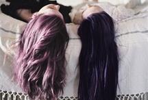 hair / luscious locks of hair