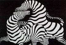 ART Black and White / KUNST GEEFT NIET ZICHTBAAR WEER, MAAR MAAKT ZICHTBAAR (citaat Paul Klee)