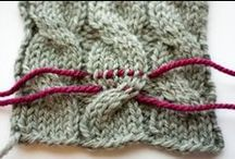 Kniting and crochet