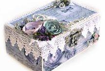 Caixas decoradas / by Laura Murgel Buffo