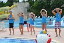 Sport: Aquagym / Foto's en uitleg over aquagym. Raadpleeg ook het Zomerjobshandboek!