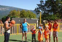 Basketbal / Foto's en speluitleg van basketbal.