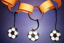 WK - voetbal / Knutselideeën voor tijdens het WK!