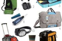 Gear & Gadgets for Travel / Travel gear and gadgets - best travel items to put on your packing list - cameras, carry-on bags, best hiking gear, what to bring with you when traveling around the world or on road trips
