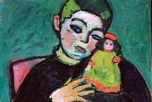 Jawlensky, Alexej von / Alexej von Jawlensky, oorspronkelijk genaamd Aleksej Georgiejevitsj Javlenski was een Russisch expressionistisch schilder. Geboren: 13 maart 1864, Torzjok, Rusland Overleden: 15 maart 1941, Wiesbaden, Duitsland Opleiding: Academy of Fine Arts, Munich