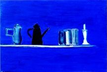 Nicolas de Staël / Nicolas de Staël (Sint-Petersburg, 5 januari 1914 – Antibes, 16 maart 1955) was een Frans schilder van Baltisch-Duitse afkomst. de Petrus- en Paulusvesting in Sint Petersburg, luitenant-generaal baron Vladimir Staël van Holstein. Na de Oktoberrevolutie van 1917 moest de familie in 1919 gedwongen emigreren naar Polen, waar beide ouders stierven. Na hun dood werden Nicolas en zijn oudere zus Marina in 1922 naar verwanten gezonden in Brussel. Hij studeerde in daar aan de Académie des Beaux-Arts.