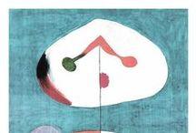 Miro, Joan / Joan Miró (Barcelona, 20 april 1893 - Palma de Mallorca, 25 dec. 1983) was een Spaans schilder, beeldhouwer, graficus en keramist, uit Catalonië.en wordt gezien als een van de grootste surrealisten. Joan Miró wordt naast Picasso en Dalí beschouwd als een van de grote drie van de Spaanse 20ste-eeuwse moderne kunst. Onder invloed van surrealistische schrijvers en schilders ontwikkelde hij zijn stijl, de biomorfische schilderkunst, die met recht voor Miró een kenmerkende stijl genoemd kan worden.