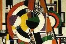 Léger, Ferdnand / Joseph Fernand Henri (Fernand) Léger (Argentan, 4 februari 1881 – Gif-sur-Yvette, 17 augustus 1955) was een Franse kunstschilder en beeldhouwer. Hij wordt beschouwd als een belangrijke vertegenwoordiger van het kubisme.