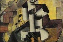 Malevich, Kazimir / Kazimir Severinovitsj Malevitsj was een Russisch en Sovjetkunstschilder die grote bekendheid in West-Europa kreeg als docent en als theoreticus van het constructivisme en het suprematisme, als moderne kunstrichtinge