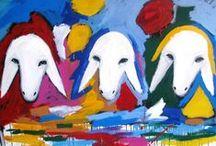 Kadishman, Menashe / Menashe Kadishman (Tel Aviv, 21 augustus 1932 – Tel Hashomer, 8 mei 2015) was een Israëlische beeldhouwer en schilder. Menashe Kadishman werkte tussen 1950 en 1953 als herder in een kibboets. De ervaring die hij opdeed in de natuur, als schaapsherder, had een blijvende invloed op zijn latere carrière als kunstenaar.