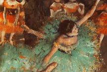Degas, Edgar / Hilaire Germain Edgar (Edgar) Degas (Parijs, 19 juli 1834 – Parijs, 26 september 1917) was een Franse impressionistisch kunstschilder en beeldhouwer.