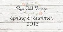 Spring/Summer 2016 / Our Spring & Summer 2016 collection!