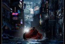 """Akira"" Live Action Original Art"