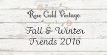 Fall / Winter Style 2016
