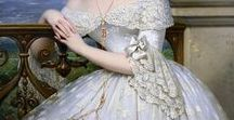 Art History Wedding Dresses / Paintings of historic wedding gowns.