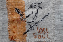 Inspiration - Birds / I watch them, I listen to them. I draw them. I sew them. I have a collection of dead ones...  / by Dawn Chorus Studio