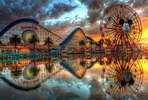 California Theme Parks! / Explore the world's most famous theme parks in California, as Disneyland, Universal Studios Hollywood and SeaWorld are among the theme parks entertaining Californian holidaymakers. Use this board to get a feel for California's theme park scene before booking you travel. You can purchase your California theme park tickets with ATD!