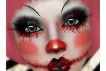 maľované masky