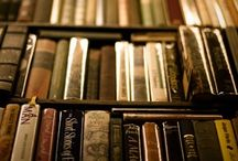 """The Library / """"It is most likely that I will die next to a pile of books I was meaning to read."""" -Lemony Snicket"""