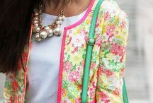 Fashion: floral outfits / Flowers on your prints.