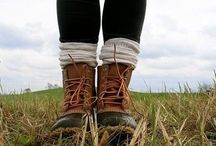 """BOOTS / """"A woman with good shoes is never ugly."""" -Coco Chanel"""