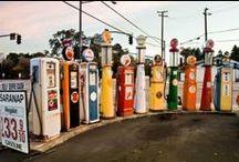 Gas station - benzinkút / Benzinkutak