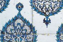 Tile / Handmade ceramic tiles for walls, counters, floors, trivets, decoration.