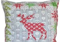 Christmas design / Inspiration for Christmas quilting projects