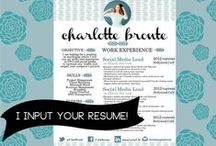 OUR RESUMES / Resume and CV Design