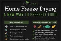 Food Preservation Infographics / There are so many beautiful and clever infographics for the food preservation types that we thought to corral them on one board