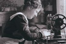 Vintage sewing / Vintage sewing notions, haberdashery and sewing machines (and how to look after them)