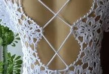 Crochê (Crochet) / Roupas, Calçado, Malas, Acessórios, etc