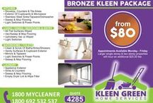 OUR KLEENING PACKAGES