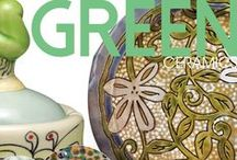 Color Inspiration: Green / Green Ceramics