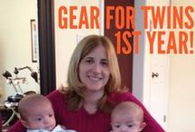 Twins / Baby Ideas / Gear & Inspiration for parenting twins - a real mom's guide on what to get and what to forget. Twin parenting hacks, twin tips and more.