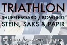 Plakater / Nye og gamle plakater til SAFT sine aktiviteter og arrangementer