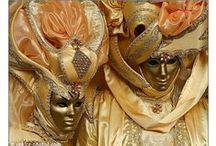 Venice Carnival / Venice Carnival in Venice, Italy