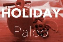 HOLIDAY PALEO / Don't let the Holidays get you down with over the top sweets! Bring these paleo goodies to your next office holiday function!