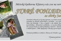 Pozvánky / Pozvánky na akce Městské knihovny Klatovy