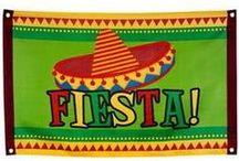 Themafeest Mexicaans / Een van de populaire zomerse themafeesten. Het Mexicaanse themafeest. Bij Feestartikelen.nl vind u tal van Mexicaanse slingers en decoraties.