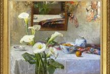 Still life paintings / Here are some extraordinary and beautiful still life paintings, dating from the 18th to the 21st century: how much pleasure good art brings!