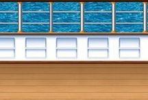 Themafeest Bootfeest - Cruise / Prachtige decoraties om uw huiskamer te veranderen in een cruiseschip!