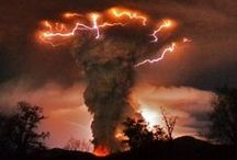 Powerful Nature / Tornado - whirlwinds - firestorms - thunderstorms - natural disaster / by Precious - Perlereden