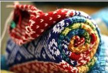strikke, sy / Håndarbeide, oppskrifter og inspirasjon
