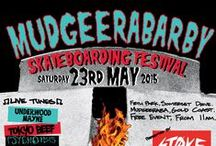 event ● MUDGEERABARBY SKATE FESTIVAL / ● Mudgeeraba Skatepark ● 23rd May 2015 ●  A free event with over $1800 worth of prizes and giveaways handed out in jam sessions for groms, girls, juniors and opens.