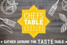 Chefs' Table / Monthly cooking classes held at TASTE Norfolk.