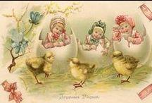 Wielkanoc,wiosenne obrazy do wydruku