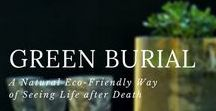 Green Burial / The concept of natural or green burials is becoming popular.